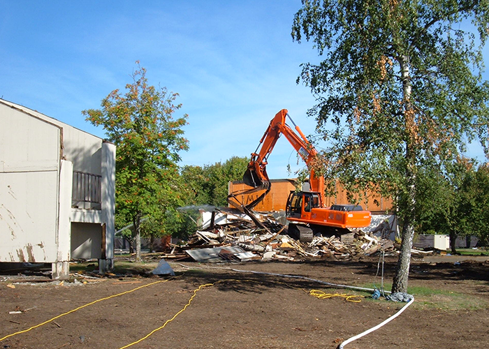 NetCompliance HUBZone Certified Small Business Demolition And Remediation McChord Air Force Base AFB