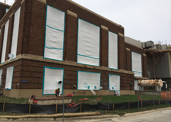 Chanute Air Force Base project by NetCompliance Certified Small Business HUBZone Demolition and Remediation Contractor NCES